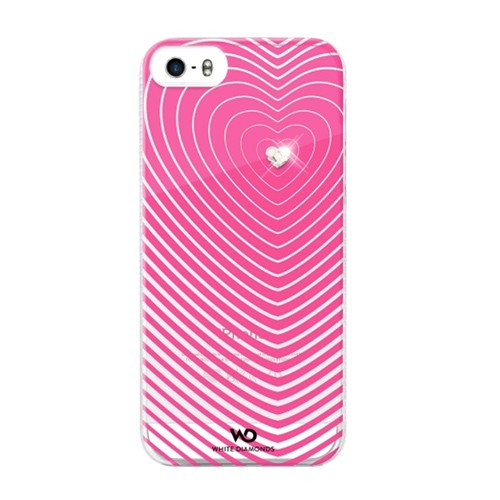 Heartbeat Case for Apple iPhone 5S/5 (Pink)