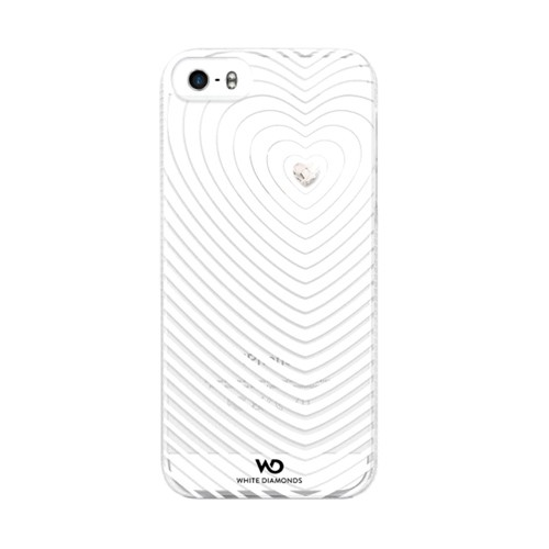 Heartbeat Case for Apple iPhone 5S/5 (White)