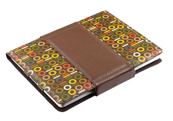 Orla Kiely Rotating Folio Case for Apple iPad 2 (Binary)