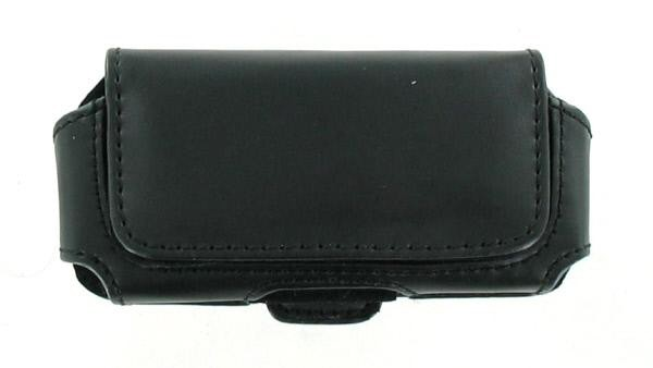 Wireless Genius Universal Horizontal Case with Belt Clip for Medium sized phones - Black