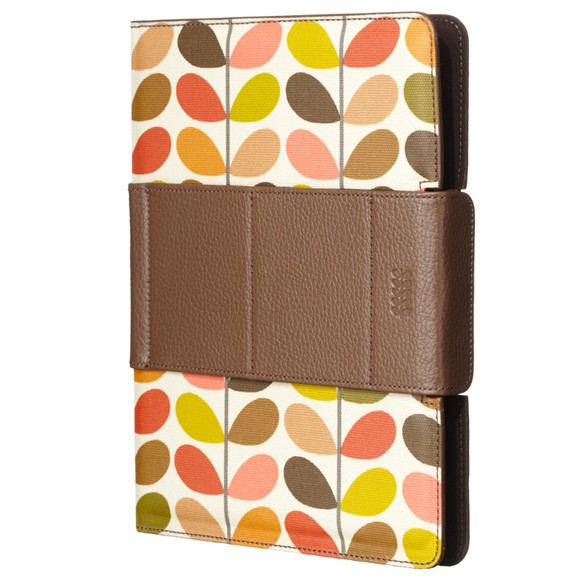 Orla Kiely Rotating Folio Case for Apple iPad 2 (Multi Stem)