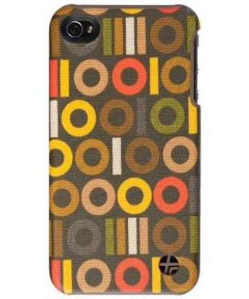 Orla Kiely Snap-On Cover Case for Apple iPhone 4/4S (Binary)
