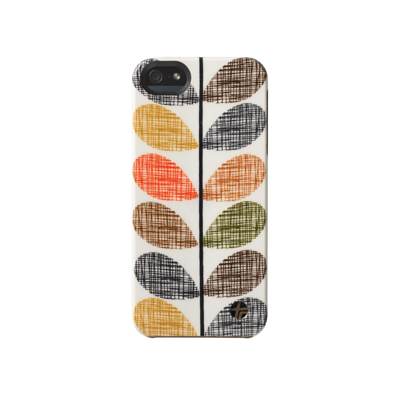 Orla Kiely Snap-On Cover Case for Apple iPhone 5 (Scribble-Stem)