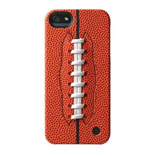 Trexta Sports Series Snap-On Leather Case for Apple iPhone 5/5s - Football