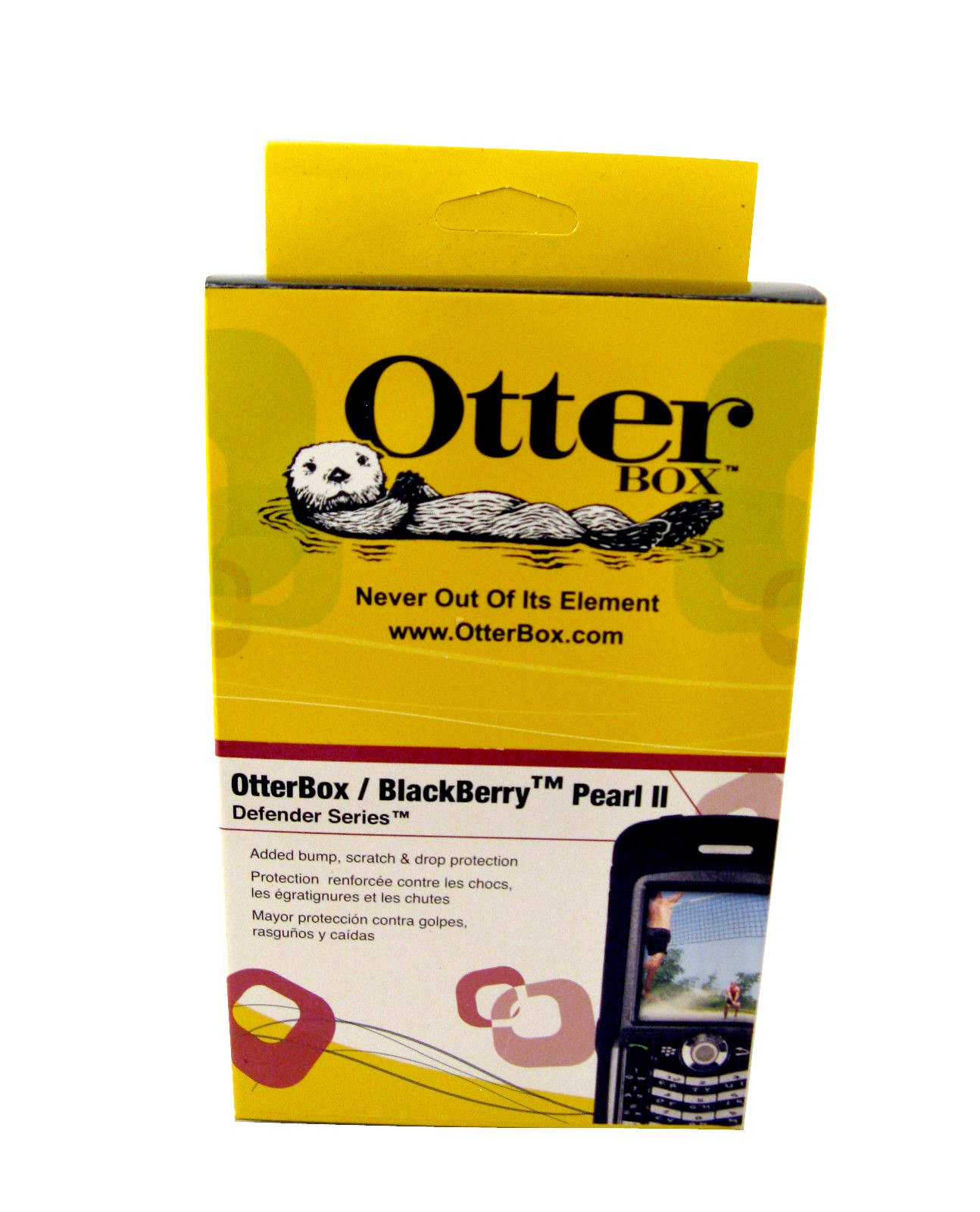 OtterBox Defender Case for BlackBerry Pearl II 8110/8120/8130 (Black)