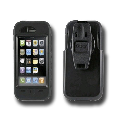 OTTERBOX Defender case is bump, drop &dust protection case w/swivel belt clip.