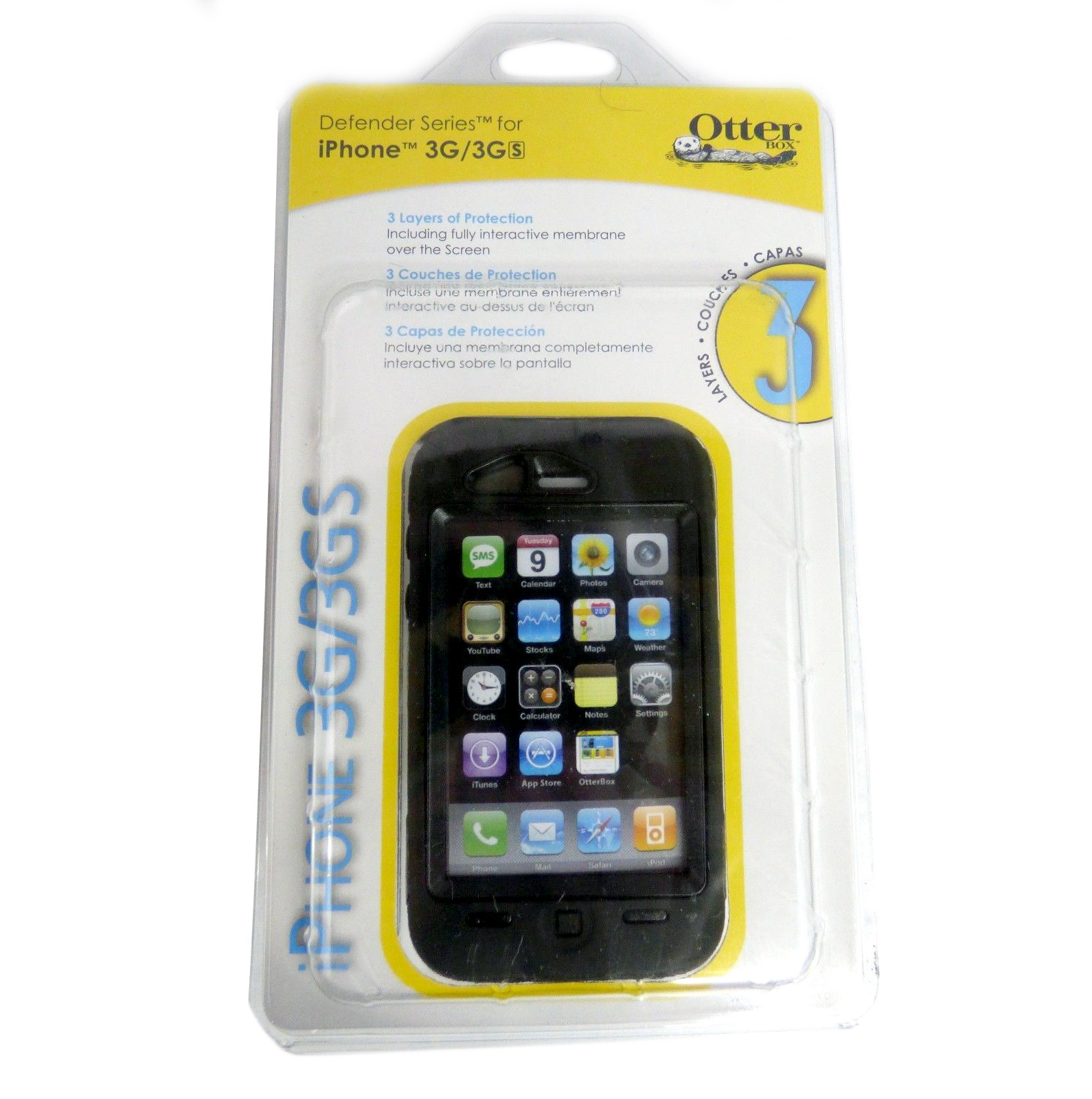 OtterBox Defender Case for Apple iPhone 3G, 3GS - Black