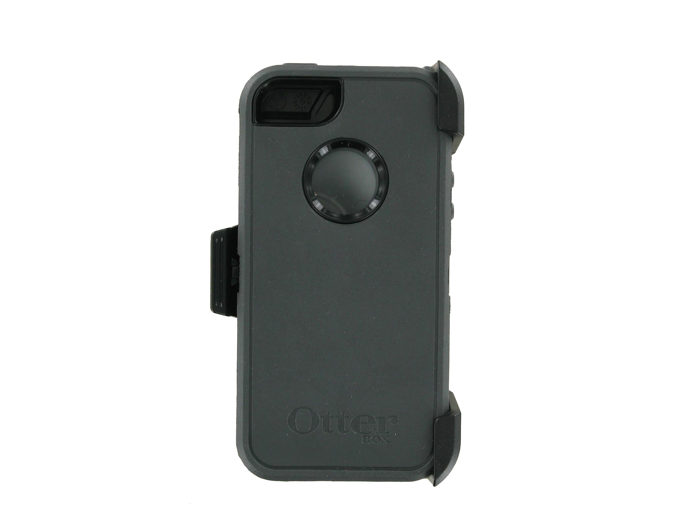 OtterBox - Defender Case for Apple iPhone 5 (Black/Gray)