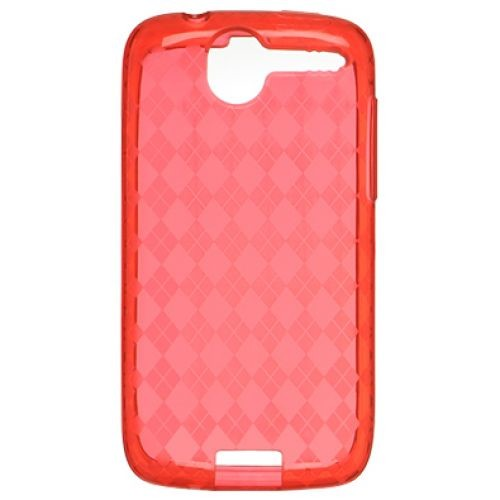 Evercell FlexiSKin TPU Gel Case for HTC Desire (Red)