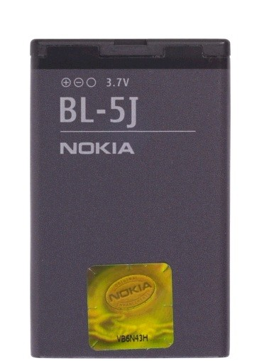 Nokia BL-5J Standard Lithium Ion 1320 mAh Battery for Nokia 5230 & C3