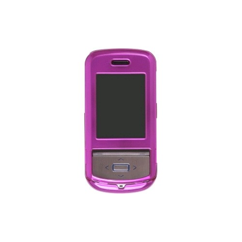 Snap-On Case for LG Shine II GD710 - Metallic Fuchsia
