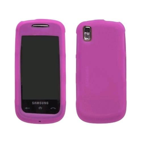 Silicone Gel Case for Samsung SPH-M810/Instinct S30 (Pink)