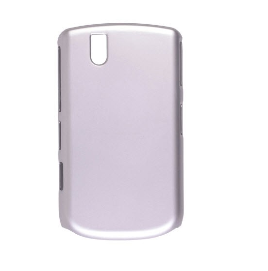 Wireless Solutions - Color Click Case for BlackBerry 9630, Bold 9650 - Silver