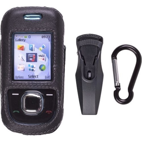 Wireless Solutions Clip On Case for Nokia 2680 - Black