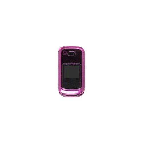 Wireless Solution Snap-On Case for Motorola W766 Entice, Pink