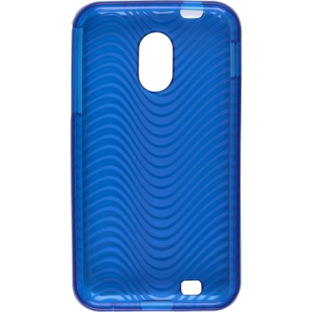 Wireless Solutions Waves Dura-Gel Case for Samsung SPH-D710 Case - Blue
