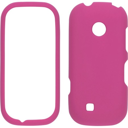 Wireless Solutions Soft Touch Snap-On Case for LG VN251 Cosmos 2 - Hot Pink