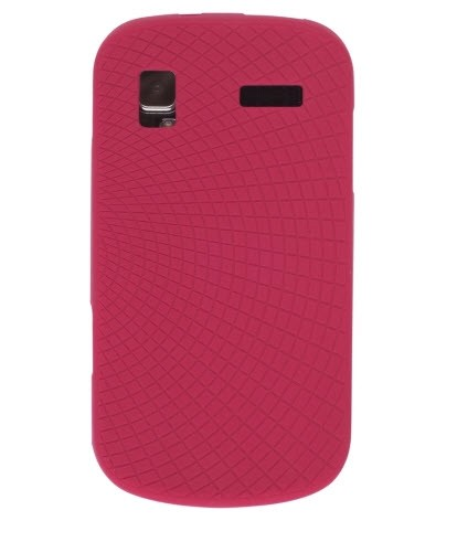 Ventev - Silicone Gel Case for Samsung Focus SGH-I917 - Red