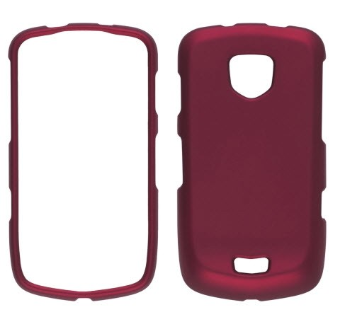 Wireless Solutions Soft Touch Snap-On Case for Samsung Droid Charge SCH-I510-Red