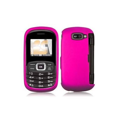 Ventev - Wireless Solutions Snap-On Case for LG Octane VN530 Cell Phones - Hot Pink