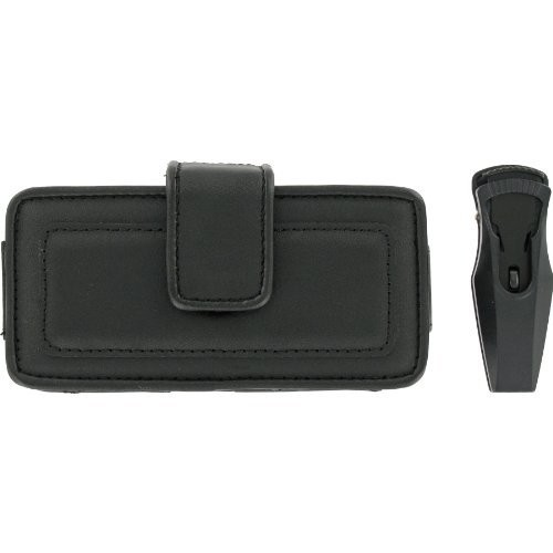 Wireless Solutions Fitted Pouch for Samsung SGH-A717, SCH-U940, SPH-M800, Palm Centro, and LG F9100 (Black)