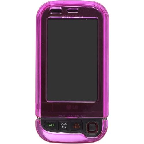 Wireless Solutions Snap On Case for LG AX840, UX840 Tritan - Magenta