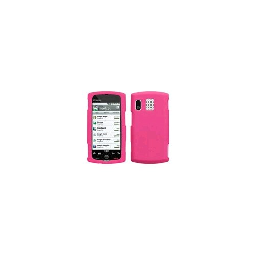 Smooth Silicone Gel for Kyocera Zio M6000 - Watermelon Pink