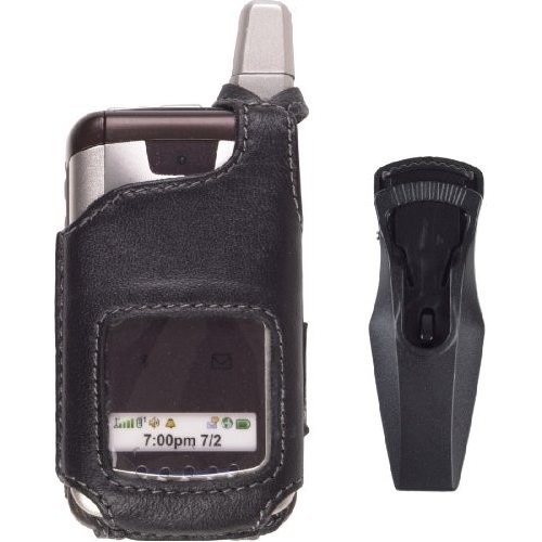 Wireless Solutions Leather Case for Motorola i776
