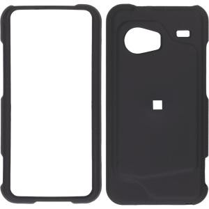 Soft Touch Snap-On Case for HTC Incredible ADR6300, Black