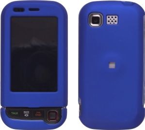 Wireless Solutions Rubberized Snap-On Cases for LG AX840 & UX840 Tritan - Blue