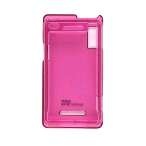Snap-On Case for Motorola Droid A855, Milestone A854 (Pink)