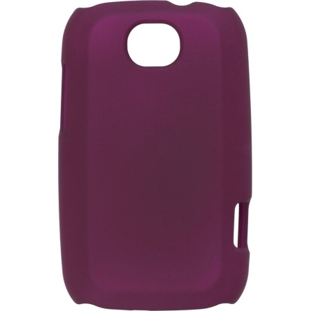 Color Click Snap Case for Motorola MB520 Bravo, Plum
