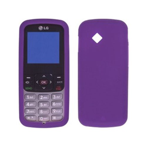 Silicone Gel Case for LG100 LG-100 - Purple