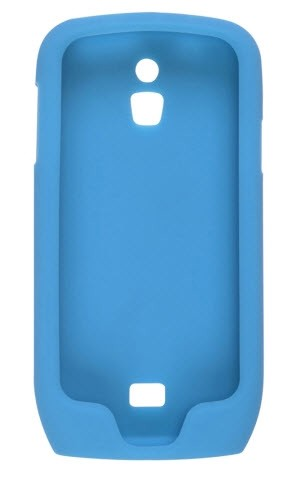 Wireless Solutions Smooth Silicone Gel Case for Samsung Exhibit 4G SGH-T759 (Aqua)