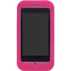 Wireless Solutions Silicone Gel for LG GT950 - Pink (Watermelon)