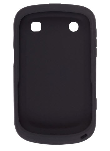 Wireless Solutions Smooth Silicone Gel Case for BlackBerry Bold Touch 9900-Black
