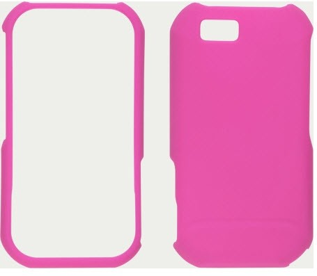 Wireless Solutions Soft Touch Snap-On Case for Motorola Titanium - Hot Pink