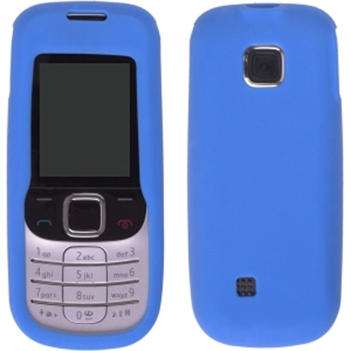 Wireless Solutions Silicone Gel Case for Nokia 2330 - Cornflower Blue