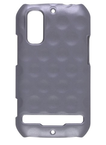 Wireless Solutions Dimples Color Click Case for Motorola Electrify MB853 / Photon 4G MB855 (Gray)