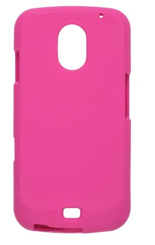 Wireless Solutions Soft Touch Snap-On Case for Samsung Galaxy Nexus SCH-I515 - Plum Pink