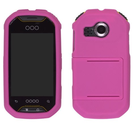 Wireless Solutions Slide Snap Case for Pantech P8000 Crossover - Pink