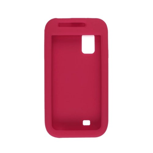 Smooth Silicone Gel for Samsung SCH-I500 Fascinate/Mesmorize - Red