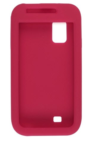 Wireless Solutions Silicone Gel Case for Samsung Fascinate SCH-I500 - Red