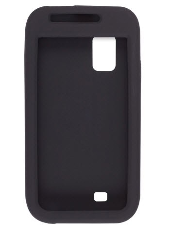 Silicone Gel Case for Samsung Fascinate / Mesmerize (Galaxy S) SCH-I500 - Black