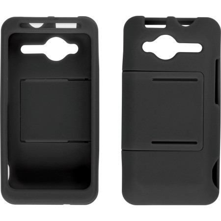 Wireless Solutions Two Piece Slide Snap Case for HTC EVO Shift 4G - Black