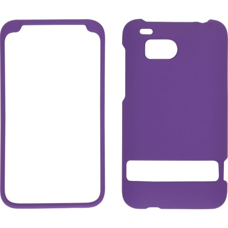 Wireless Solutions Soft Touch Snap-On Case for HTC ThunderBolt 4G - Purple