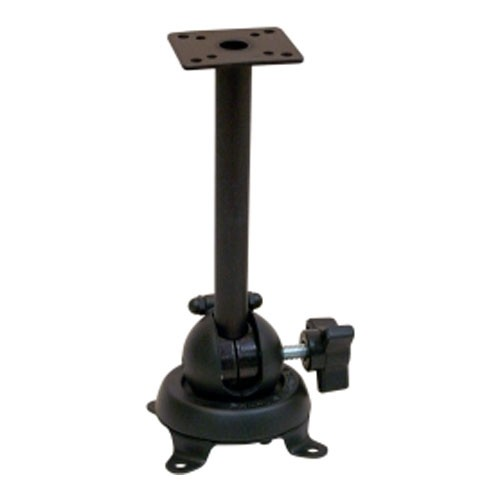 "Panavise 6"" Communications Mount With Straight Shaft - Black"