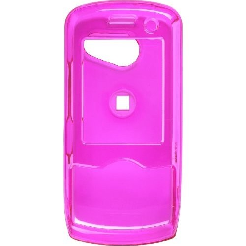 Wireless Solutions Snap-On Case for LG LX-370/UX-370/MT-375/Lyric/Force - Dark Pink