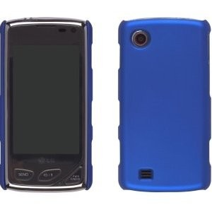 Wireless Solutions Color Click Case for LG Chocolate Touch VX8575 - Blue