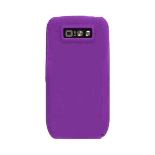 Wireless Solutions Silicone Gel Case for Nokia E71x (Dark Purple)